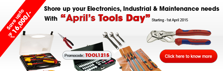 Flat 12% Off on Tools Range